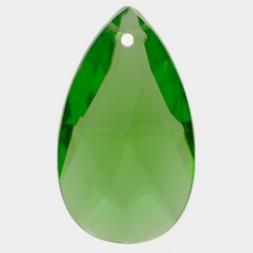 Amendoa Pingente K9 LDI Cristais art. 02 Peridot 19x11mm