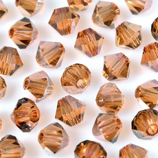 Balao Swarovski art. 5301 Cristal Copper 4mm