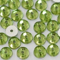 Lantejoula LDI Cristais art. 61 Chrysolite 4mm