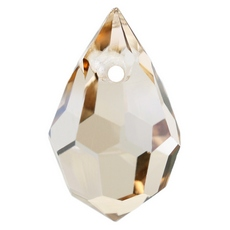 Drops Pingente Preciosa art. 451 51 681 Cristal Honey 15x9mm