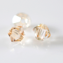 Balao Preciosa art. 451 69 302 Cristal Honey 4mm