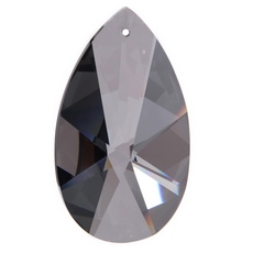 Amendoa Pingente Asfour art. 873 Black Diamond Satin 50x29mm2 polegada