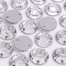 Strass Chaton Rose para costura Preciosa art. 438 61 613 Cristal 12mm
