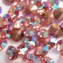 Strass Mc Chaton Optima Preciosa art. 431 11 111 base conica Light Rose Aurora Boreal SS16  3,80mm