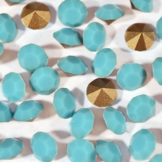 Strass Mc Chaton Optima Preciosa art. 431 11 111 base conica Turquoise SS24  5,20mm