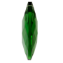 Amendoa Pingente K9 LDI Cristais art. 08 Emerald 63x43mm2,5 polegada