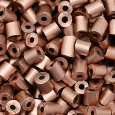 Canutilho Segui Color by LDI Cristais Bronze Fosco Metalico 01780L 3x4mm