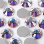 Strass Chaton Viva 12 Preciosa art. 438 11 612 NO HF Cristal Aurora Boreal New SS30 6,30mm