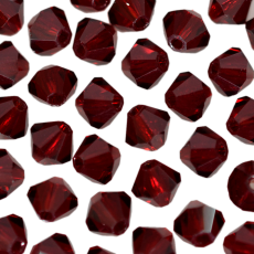 Balao LDI Cristais art. 45169 Garnet  4mm