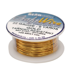Craft Wire Fio Copper Dourado 22 Gauge  0,64mm