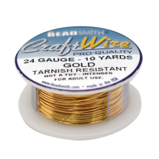 Craft Wire Fio Copper Dourado 24 Gauge  0,51mm