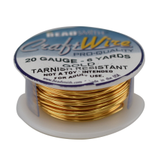 Craft Wire Fio Copper Dourado 20 Gauge  0,81mm