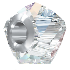 Berloque Swarovski Charm Becharmed Facetado Cristal AB 14mm