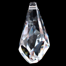 Drops Polygon Pingente Swarovski art. 6015 Cristal 21mm