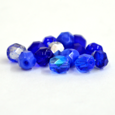 Cristal Preciosa Ornela Mix Azul Royal 6mm