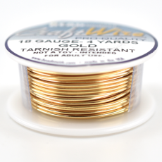 Craft Wire Fio Copper Dourado 18 Gauge  1mm