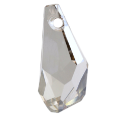 Drops Polygon Pingente Swarovski art. 6015 Cristal Silver Shade 13mm