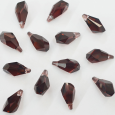Drops Polygon Pingente Swarovski art. 6015 Burgundy 17mm
