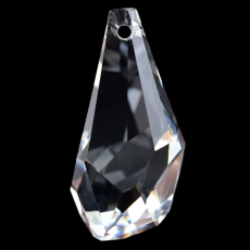 Drops Polygon Pingente Swarovski art. 6015 Cristal 17mm