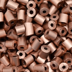 Canutilho Segui Color by LDI Cristais Bronze Fosco Metalico 01780L 2,5x2,5mm
