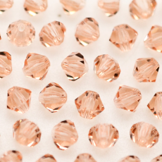 Balao LDI Cristais art. 45169 Light Peach 4mm